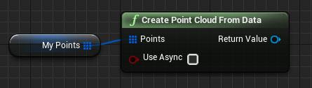 Construct a Point Cloud asset