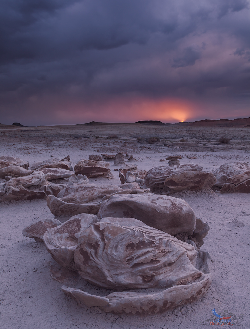 Alien Sunset at Bisti