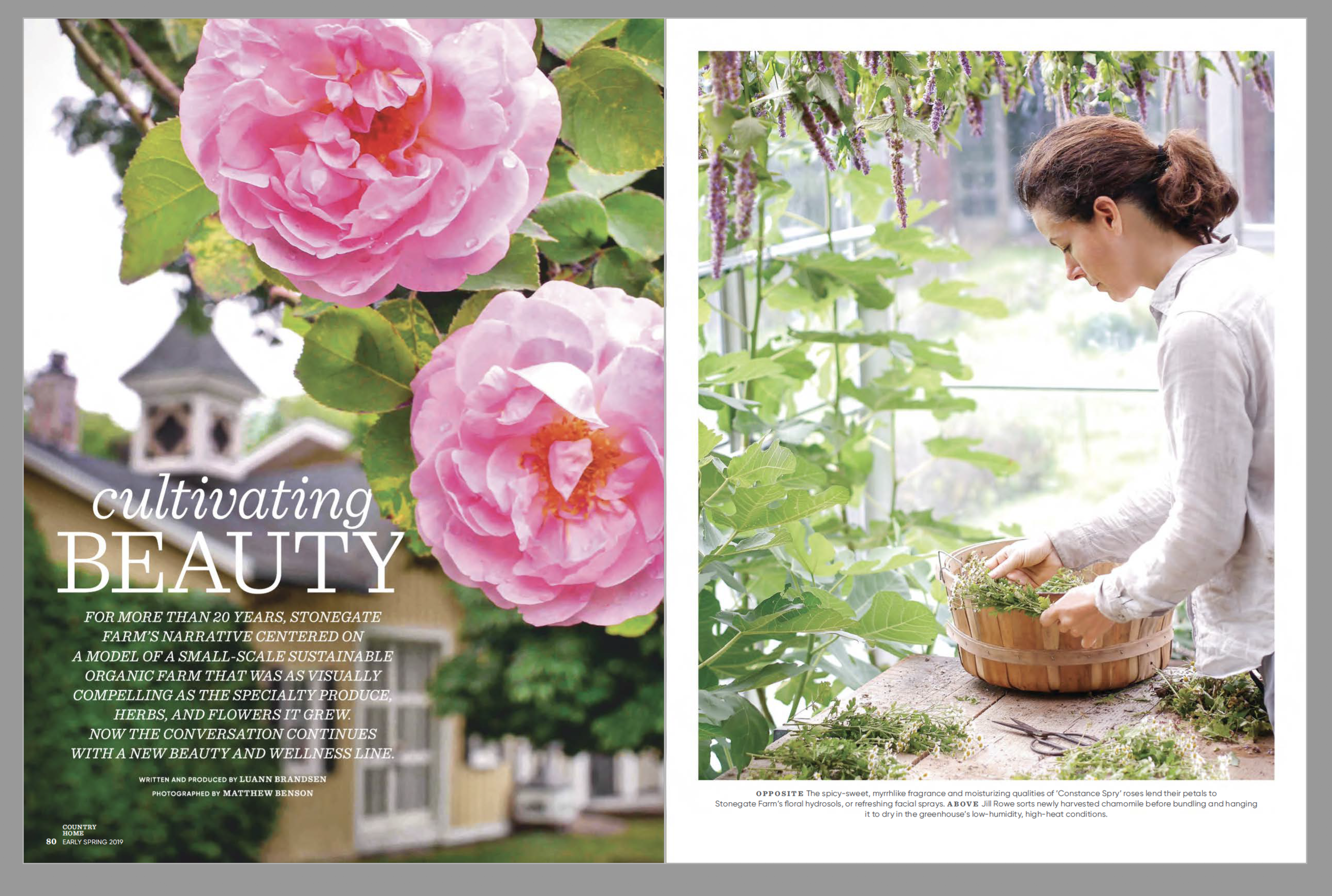 featured in - COUNTRY HOME MAGAZINE 2019