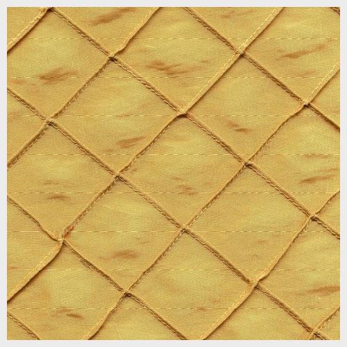 Gold Pintuck Taffeta
