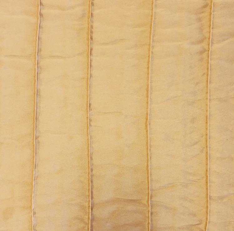 Gold Pin Stripe Taffeta