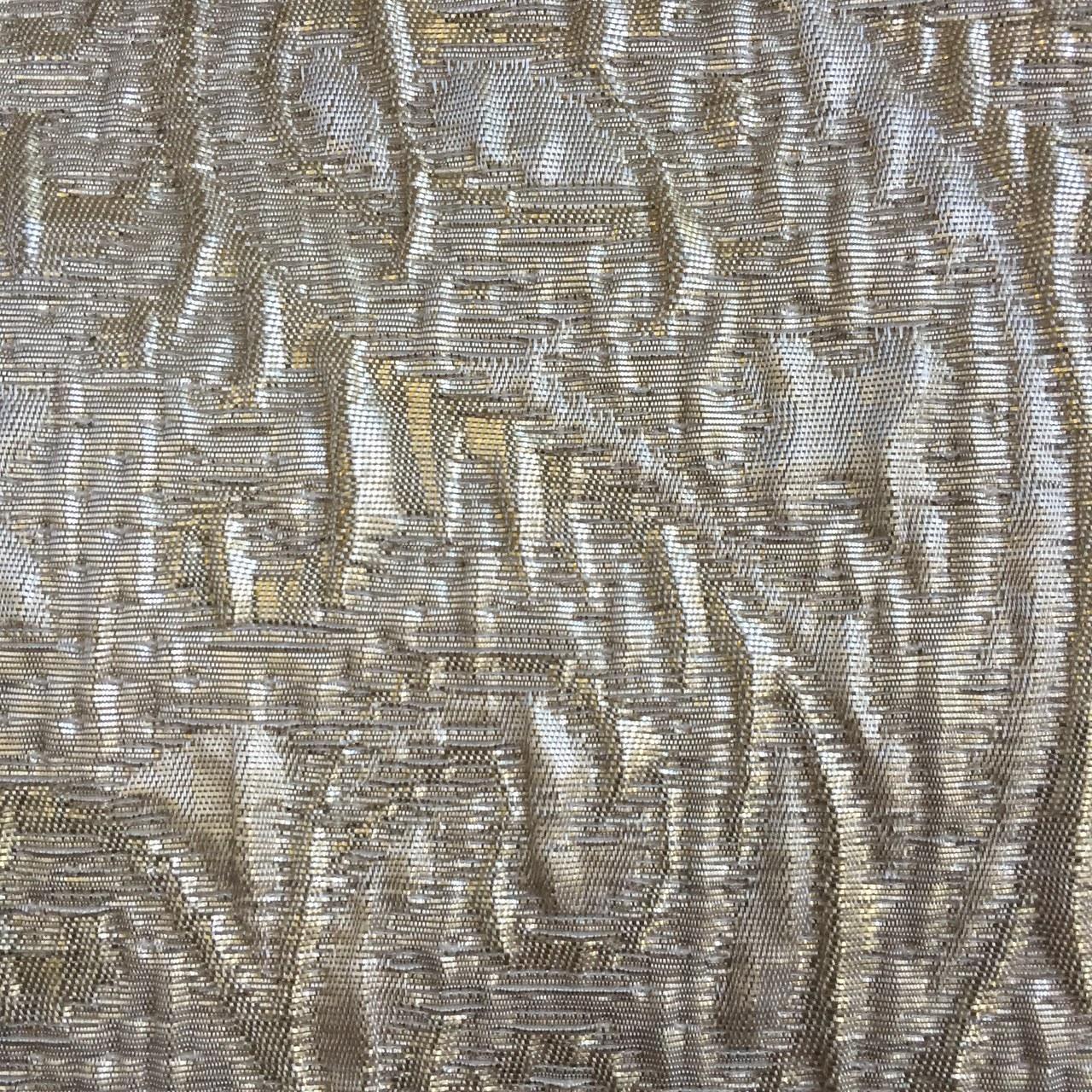 Gold Metallic Brocade