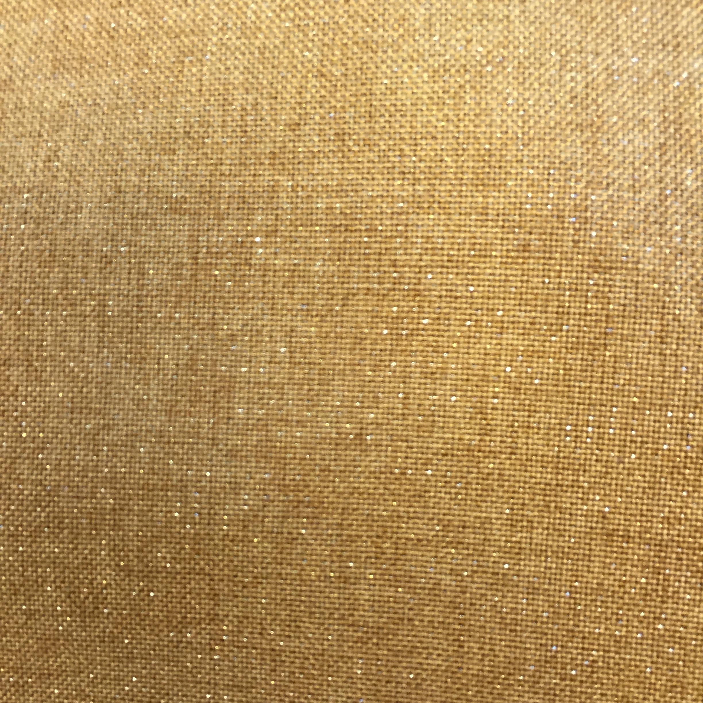 Brass Metallic Linen