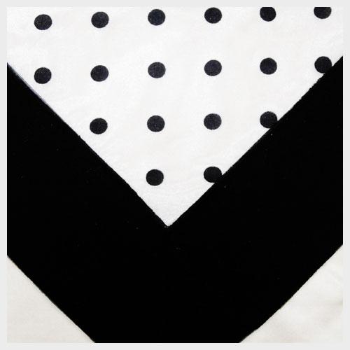 Black Dot Organza
