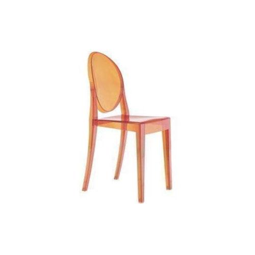 Orange Victoria Ghost Chair