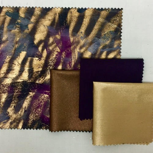 Bronze Purple Terra | Bronze Sleek Aubergine Nu Silk | Bronze Metallic Nu Silk