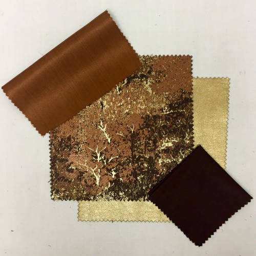 Copper Sateena | Bronze Forest Gold Vinyl | Mink Nu Silk