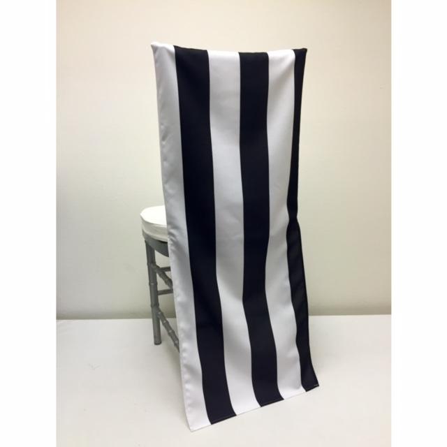 Black Stripe Chair Back
