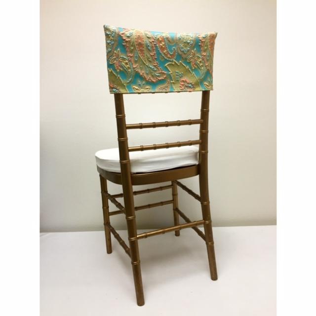 Blue Parfait Chair Cap