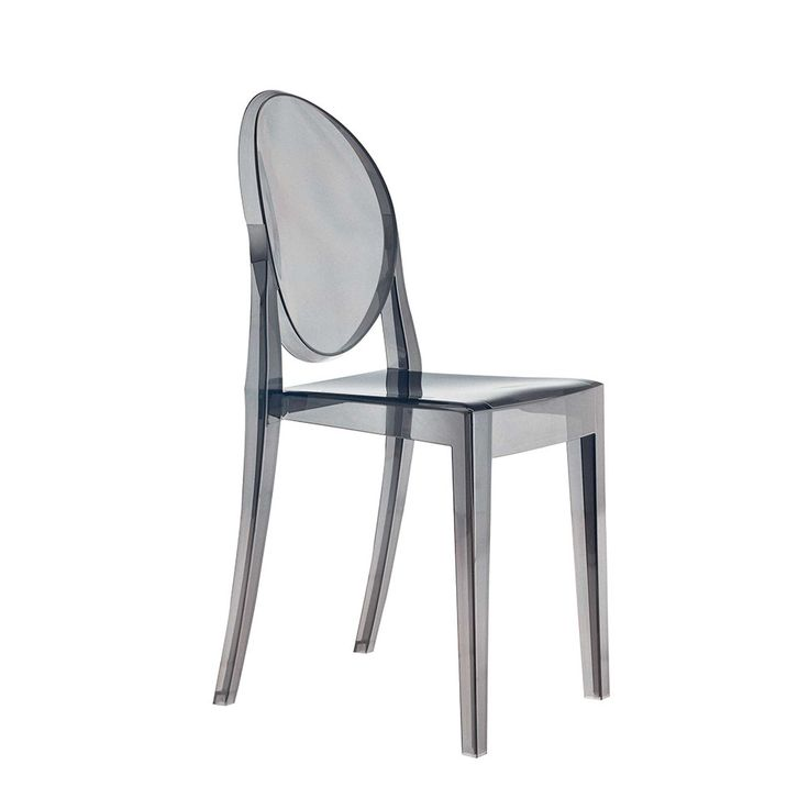 Smoke Kartell Victoria Ghost Chair