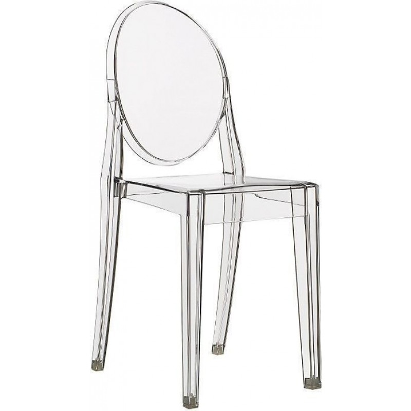 Clear Kartell Victoria Ghost Chair