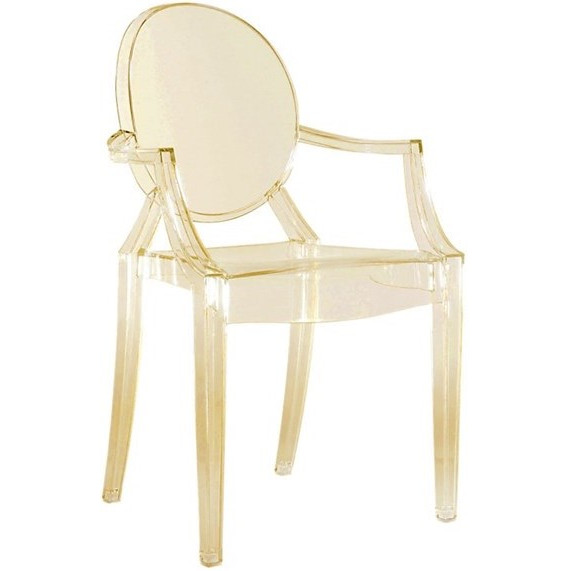 Sunset Kartell Louis Ghost Chair