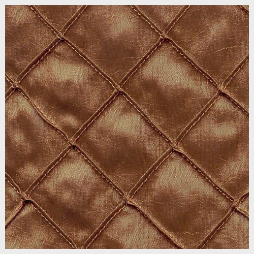 Copper Pintuck Taffeta