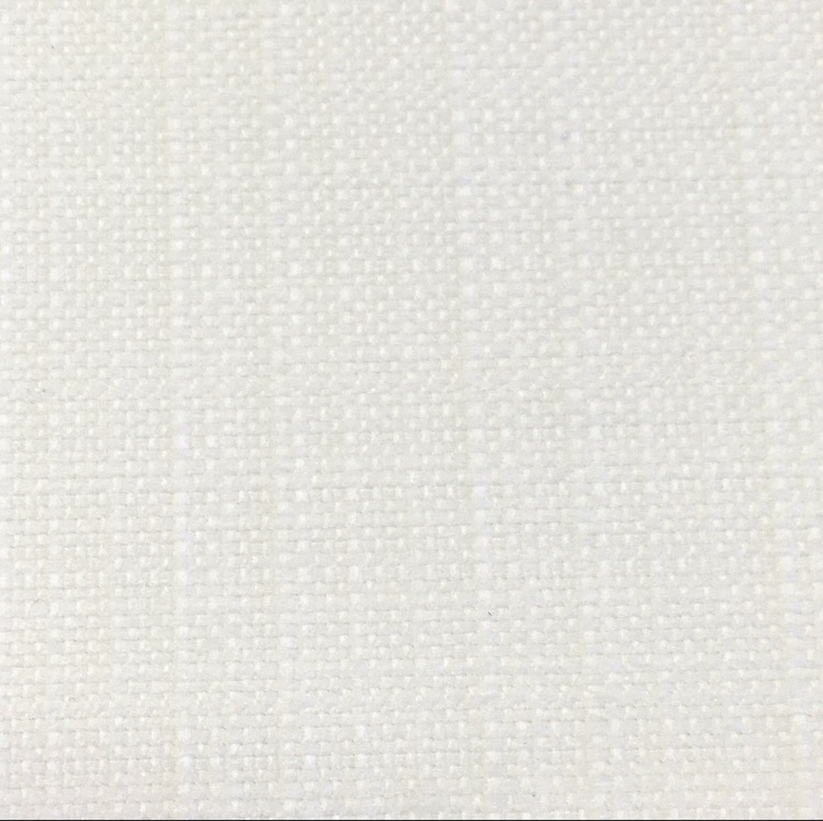 White Textured Linen