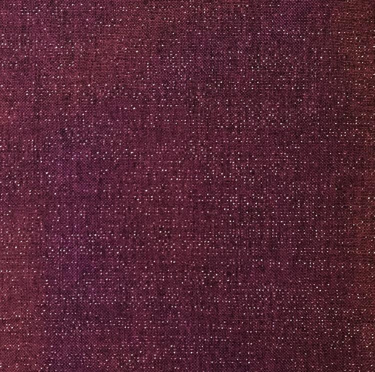 Purple Metallic Linen