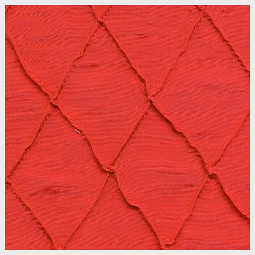 Red Pintuck Taffeta