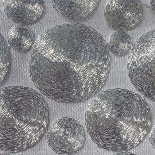 Silver Metallic Cord