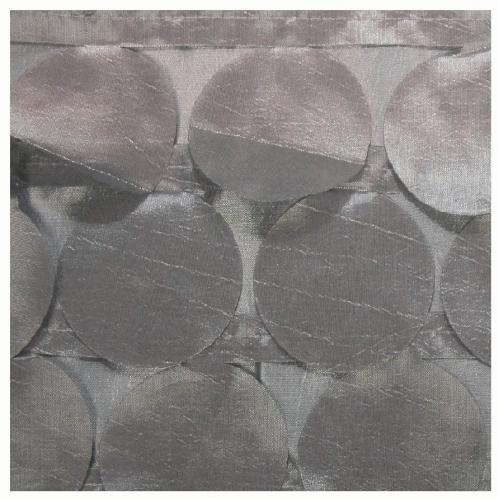 Silver Petal Taffeta