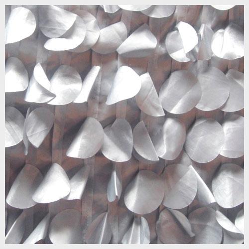 Platinum Petal Taffeta