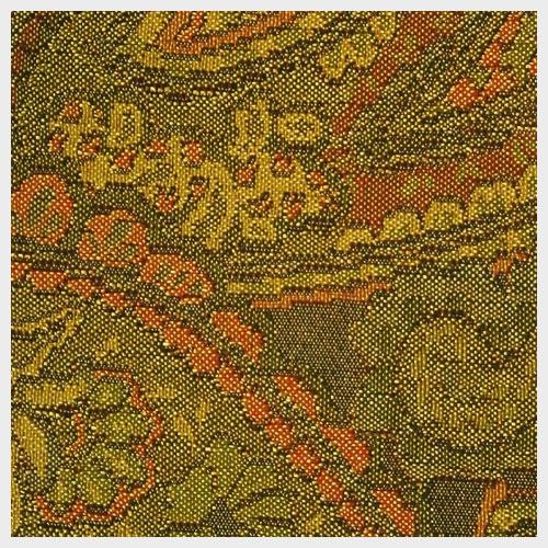 Spice Paisley Brocade