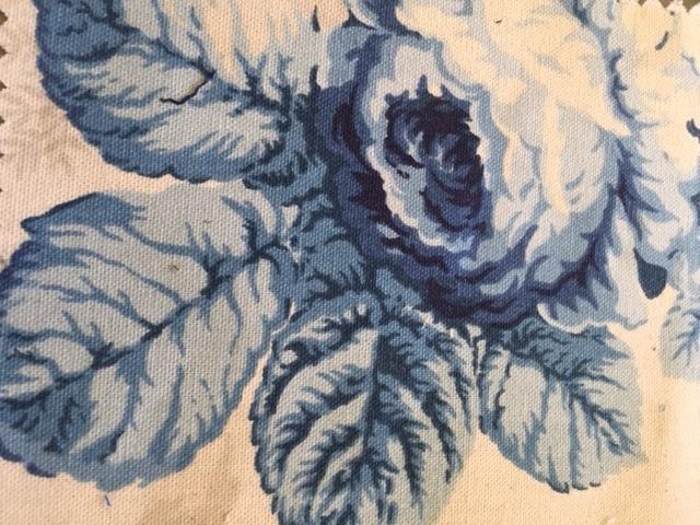 Blue Rose Print