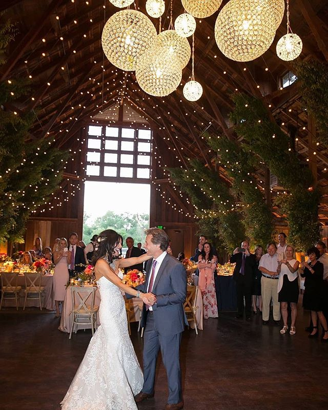 Gorgeous reception beautifully put together by @sacks_productions  #Repost @sacks_productions · · ·  A dance underneath the lights...we will never forget this magical day! || Planning: @sacks_productions | Venue: @santaluciapreserve | Wedding Cakes: @freedombakery @rawesomemorsels | Furniture: @foundrentals | Floral: @waterlilypond | Invitations/Printed Materials: @tinypinepress | Lighting: @gotlightsf | Linens: @resourceonelinens @latavolalinen | Photographer: @joebuissink | Cocktail Musicians, DJ and Sound: @elanartists | Videography: @bluecat_cinema . . . #sacksproductions #weddingdesign #weddingdecor #reception #receptiondesign #barnwedding #twinklelights #stringlights #barnrecption • • • • • #luxurydecor #barnweddingdecor #events #wedding #celebration #specialevents #eventplanner #eventdesign #weddinginspiration #weddinginspo #barnweddingvenue #rusticweddingdecor #rusticwedding #luxurywedding #luxurydesign
