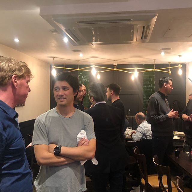 London Crypto Curry Club kindly sponsored by the wonderful Lewis Silkin LLP