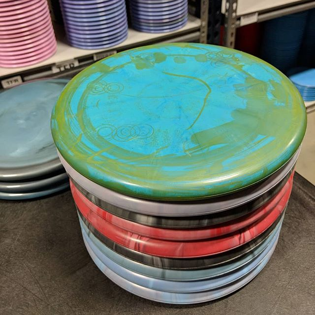 Here are some tasty hand picked @dynamicdiscs goodies waiting for the stamp that lets you know...