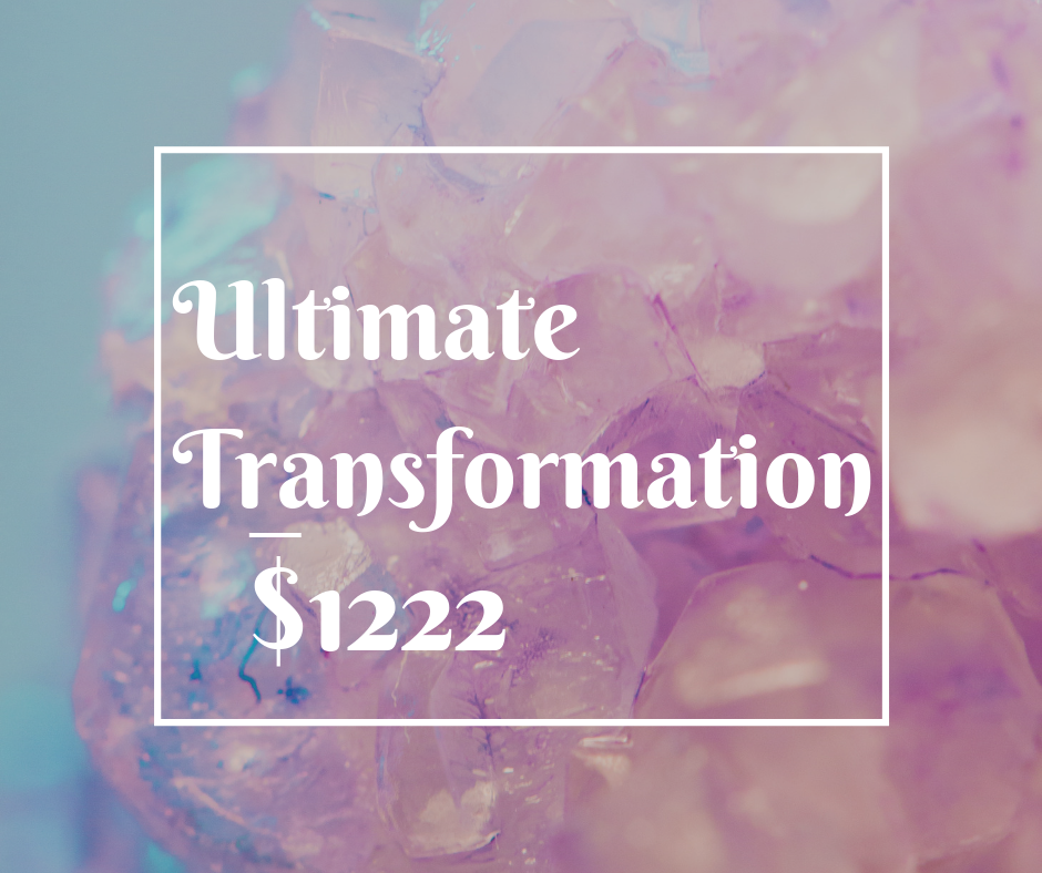 This Includes:   6: 45 Minute sessions with me on zoom video conferencing approximately 1 month apart.  Channeling from your higher-self/guides, clarity, guidance and homework assignments that unlock your blocks with ease.  4 Tarot Readings  Unlimited support via the app Voxer during your 3 months of coaching.