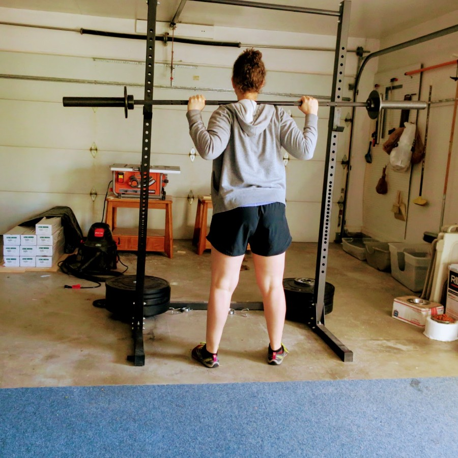 picked up a barbell (twice!) this week for the first time in quite awhile.