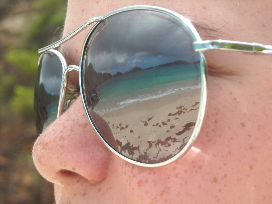 summer 2011: on our honeymoon - Guana Island