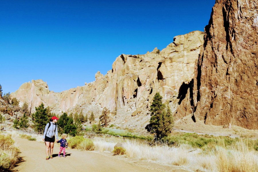 August 2018: Smith Rock State Park, At the tail end of my 2nd year