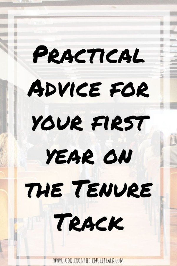 Advice for the First Year on the Tenure Track
