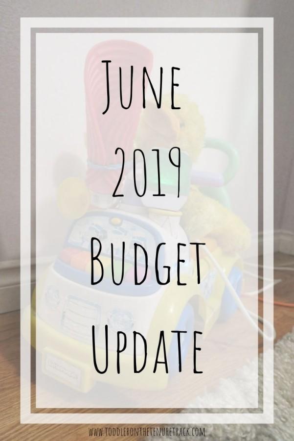 june 2019 budget update