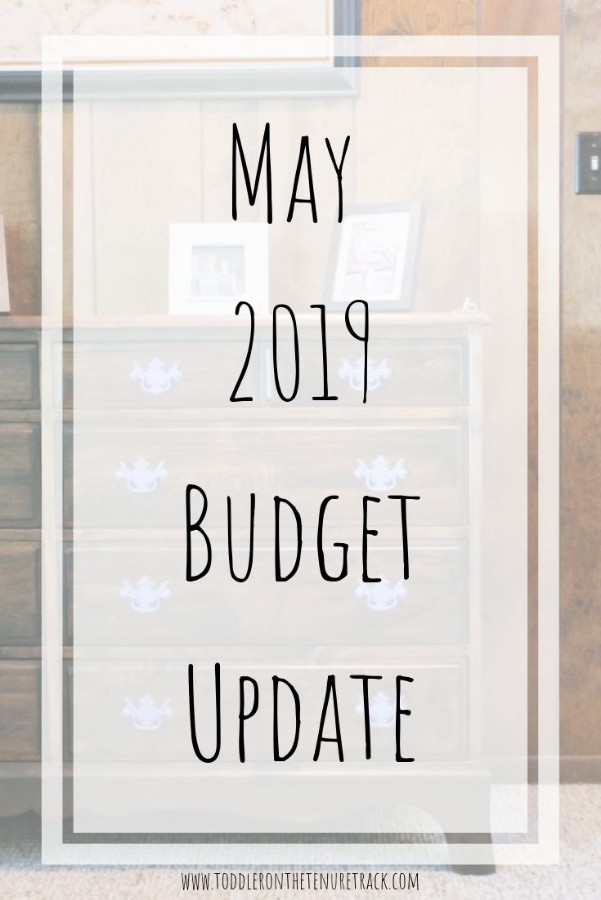 may 2019 budget update