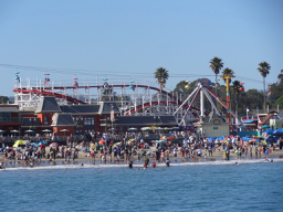 The Giant Dipper and the main beach: a wonderful combination.