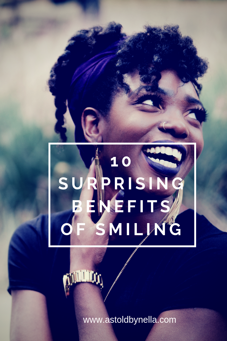 Benefits of smiling