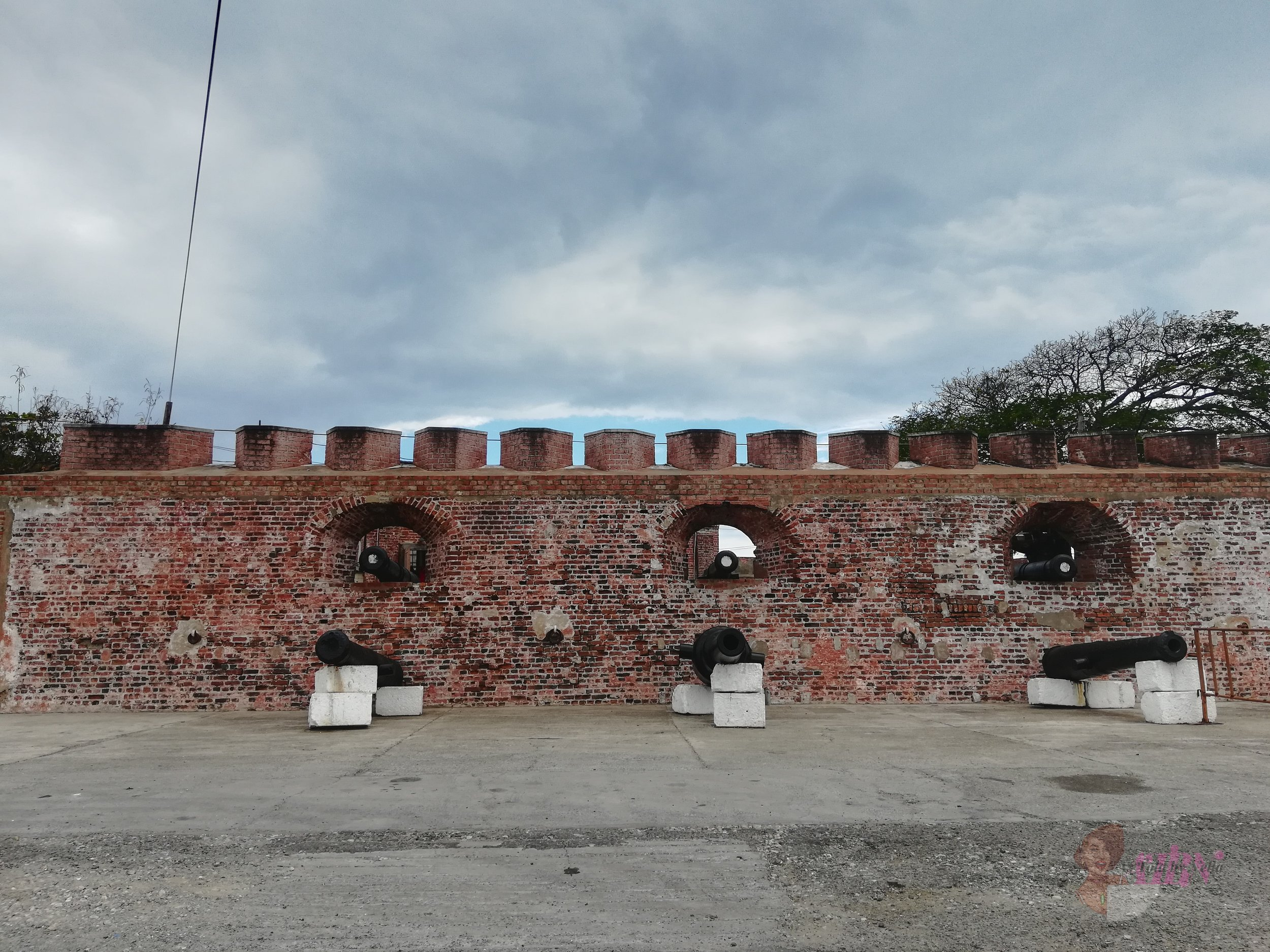 The Outside of Fort Charles, Port Royal