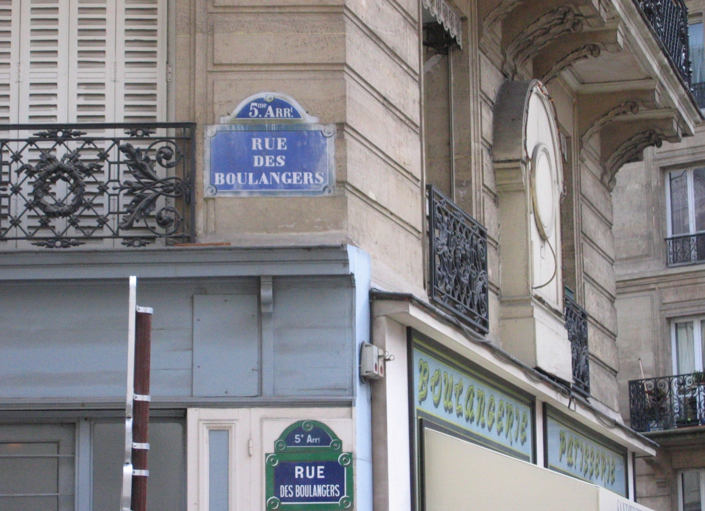 The Street of the Bakers , in Paris