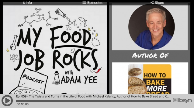 My Food Job Rocks: Interview with Michael Kalanty