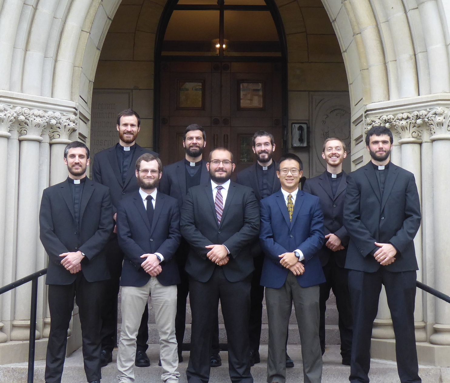 A House of Formation - We currently have nine men in our D.C. house in formation for the priesthood, studying at the Dominican House of Studies for philosophy and theology.