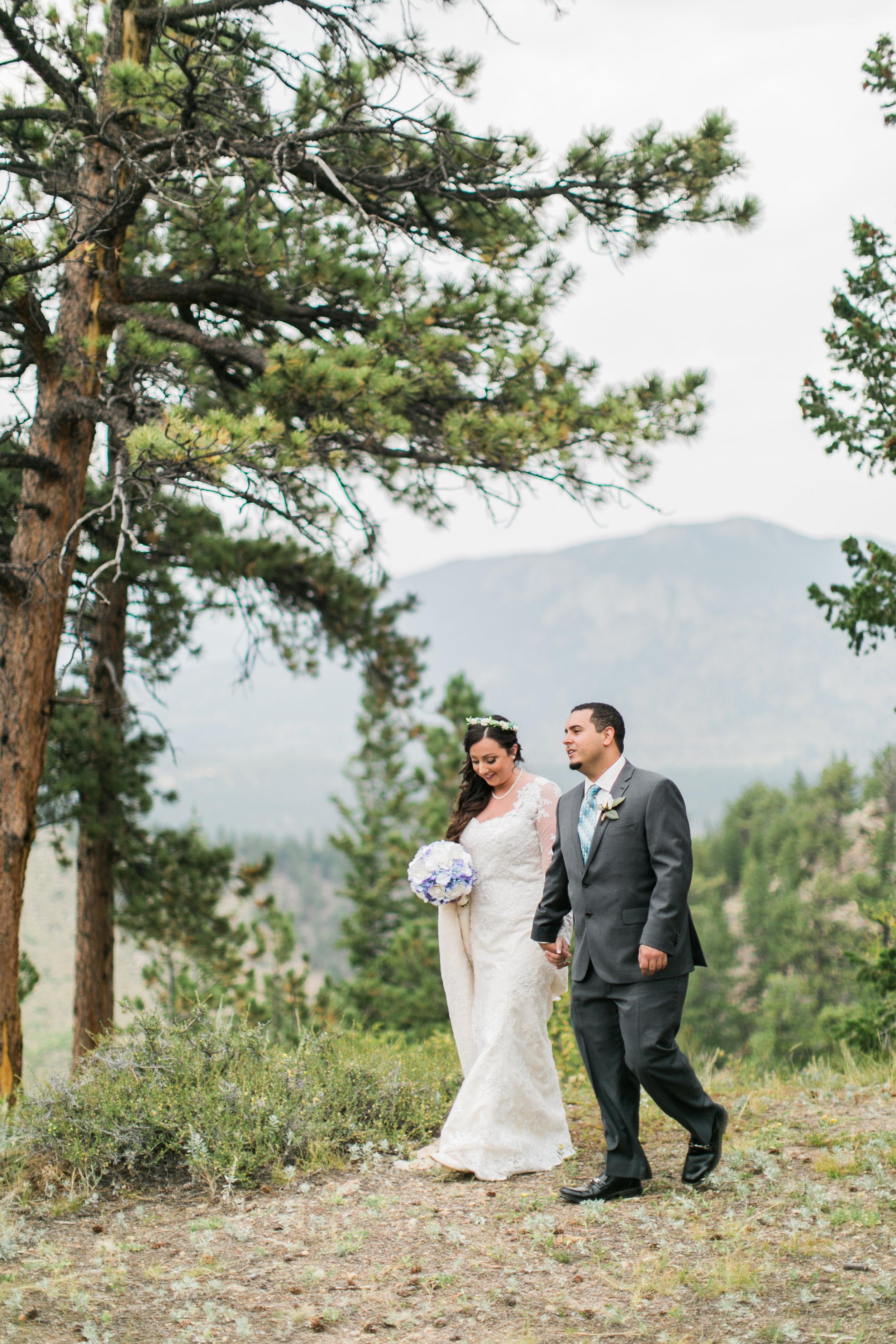 Rachel & Jonathan, Estes Park, CO
