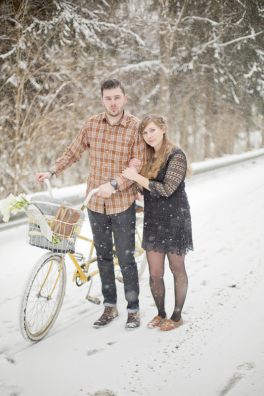 A Winter Wonderland Engagement