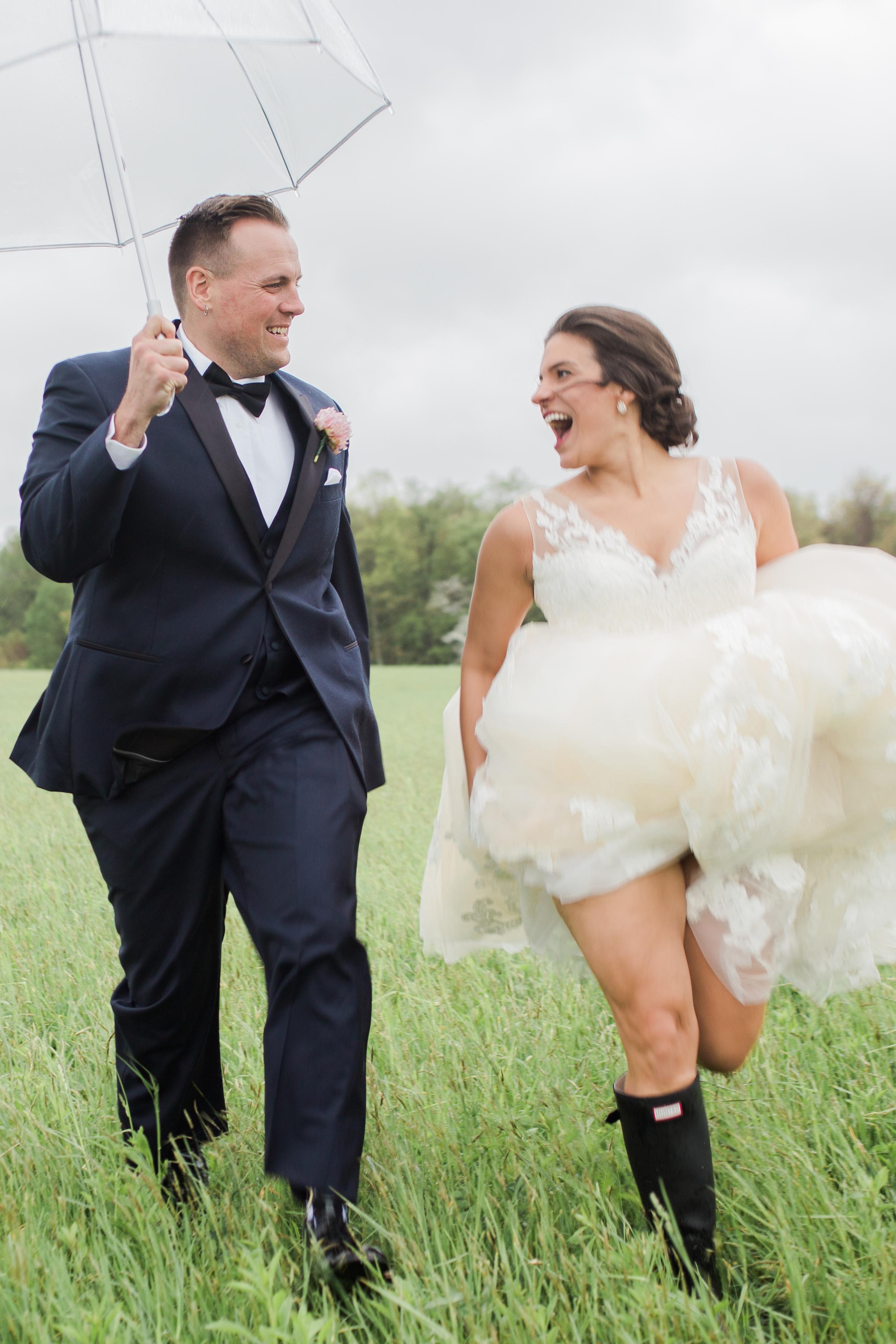 Kayla & Luke, Rainy Day Farm Wedding