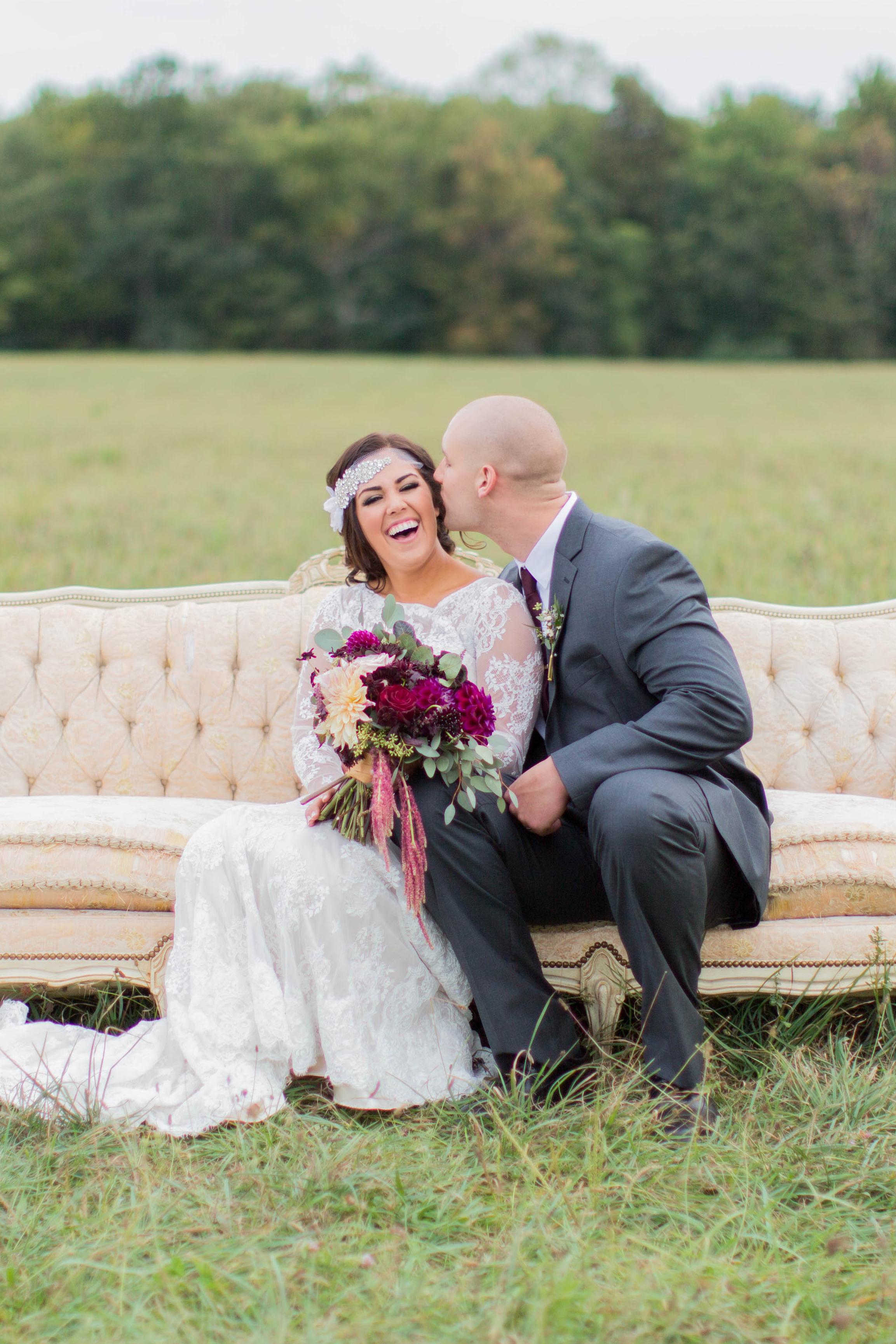 A Great Gatsby Inspired Farm Wedding