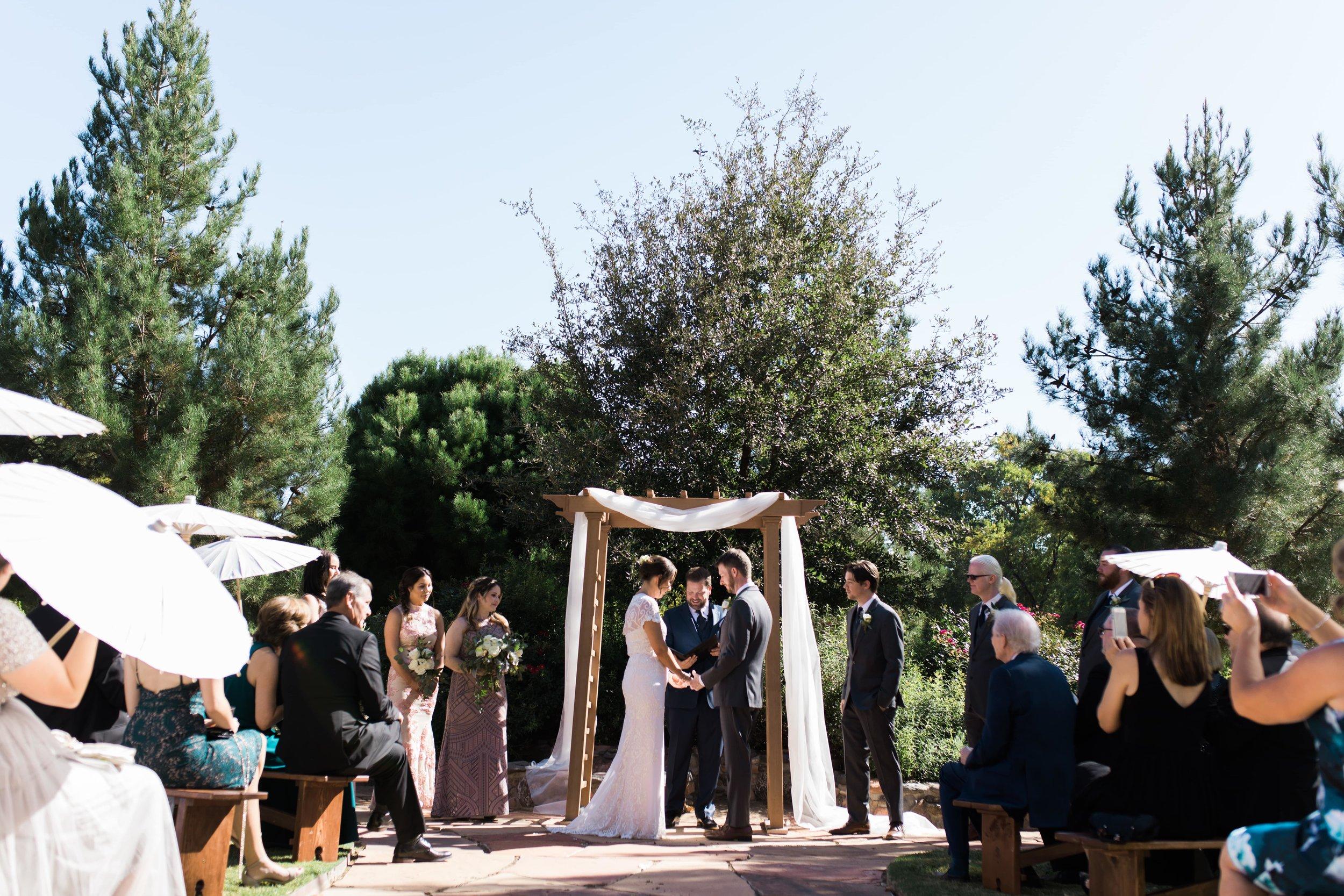 Page Springs Arizona Wedding - Page Springs Wedding Photographer - Wedding Ceremony Page Springs Winery.jpg