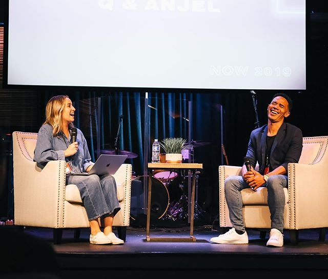 During our Q&ANJEL with Anjel, she interviewed 7 amazing people and had them share a bit of their story along with impart their freedom in specific spheres of influence over the room. Such a powerful time of hearing God move through their willingness to Him!