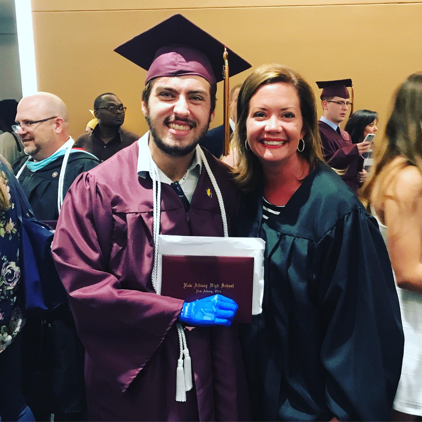 Aaron's High School Graduation