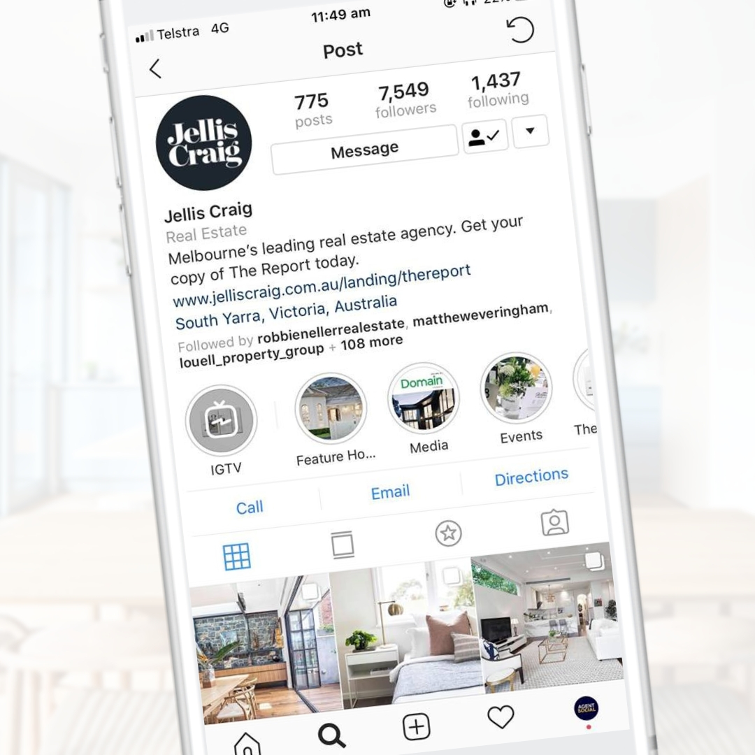 Jellis Craig social media marketing