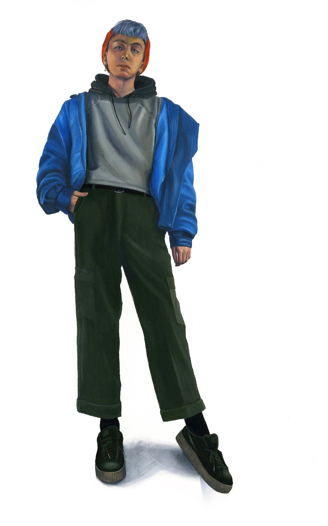 Julian in Streetwear